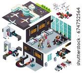 a vector illustration of... | Shutterstock .eps vector #674752564