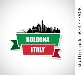 bologna skyline   italy  ... | Shutterstock .eps vector #674777908