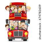 cartoon vector illustration of... | Shutterstock .eps vector #674782609