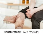 unidentifiable male doctor or... | Shutterstock . vector #674790334