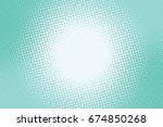 turquoise green background... | Shutterstock . vector #674850268