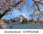 The Jefferson Memorial Framed...