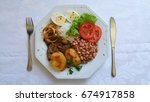 traditional brazilian food dish ... | Shutterstock . vector #674917858