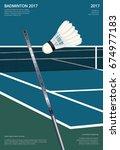 Badminton Championship Poster...