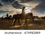 Rodeo Sunset