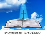 the good book also call the...   Shutterstock . vector #675013300