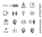 knowledge icon. | Shutterstock .eps vector #675027859