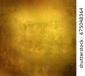 gold paint glazes in different... | Shutterstock . vector #675048364
