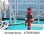 Fire Hydrant On Ship Deck In...