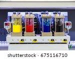 industry ink tank printer  | Shutterstock . vector #675116710