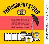photographer or photostudio... | Shutterstock .eps vector #675152614