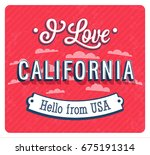vintage greeting card from... | Shutterstock .eps vector #675191314