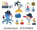 Big Pirate Set  Cute Templates...