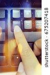 delete  keyboard delete | Shutterstock . vector #675207418