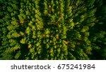 beautiful panoramic photo over... | Shutterstock . vector #675241984