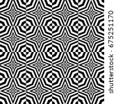 seamless pattern with black... | Shutterstock .eps vector #675251170