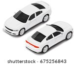 vector isometric high quality... | Shutterstock .eps vector #675256843