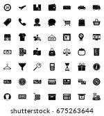 commerce icons | Shutterstock .eps vector #675263644