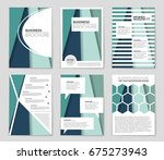 abstract vector layout... | Shutterstock .eps vector #675273943