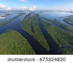 anavilhanas archipelago ... | Shutterstock . vector #675324820