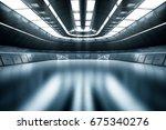modern future background... | Shutterstock . vector #675340276