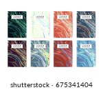 abstract colorful vibrant... | Shutterstock .eps vector #675341404