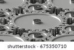 design element. 3d illustration.... | Shutterstock . vector #675350710