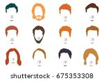 fashionable men's hairstyle ...