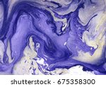 hand painted marble texture.... | Shutterstock . vector #675358300
