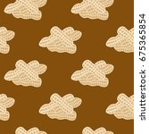 peanuts seamless background ...   Shutterstock .eps vector #675365854