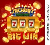 jackpot | Shutterstock .eps vector #675390730