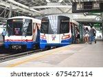 bangkok   april 29  the bangkok ... | Shutterstock . vector #675427114
