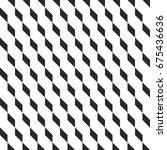 retro memphis geometric cube... | Shutterstock .eps vector #675436636