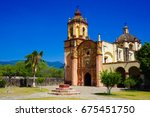franciscan missions in the... | Shutterstock . vector #675451750