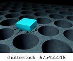 adversity strategy concept... | Shutterstock . vector #675455518