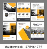 multipurpose brochure template...   Shutterstock . vector #675464779