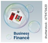 business and finance concept... | Shutterstock .eps vector #675473620