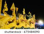ubon ratchathani  thailand  ... | Shutterstock . vector #675484090