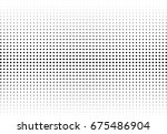 abstract halftone dotted... | Shutterstock .eps vector #675486904