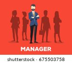 vector creative illustration of ... | Shutterstock .eps vector #675503758