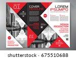 business brochure. flyer design.... | Shutterstock .eps vector #675510688