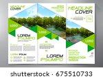 business brochure. flyer design.... | Shutterstock .eps vector #675510733