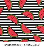 Watermelon Summer Seamless...
