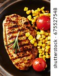 Grilled Turkey Fillet With...