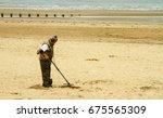 Bridlington Beach England Uk...