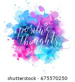 multicolored splash watercolor... | Shutterstock .eps vector #675570250
