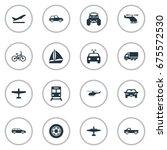 vector illustration set of... | Shutterstock .eps vector #675572530