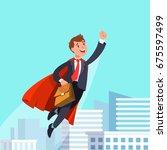 vector illustration of happy... | Shutterstock .eps vector #675597499