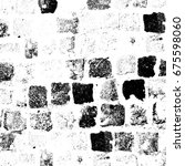 grunge background of black and... | Shutterstock . vector #675598060