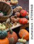 Farmers Market Goods Display....
